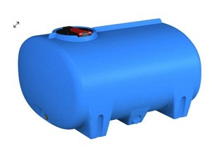 Global 1500L Cartage Tank