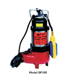 Orange Sump Pump SP100