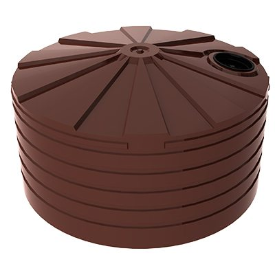 Bushmans 10000L Squat Round Tank