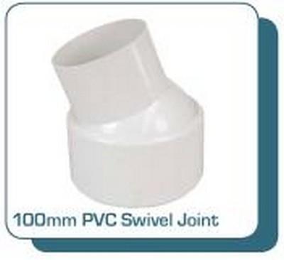 Kingston Water Tanks Tankmasta Underground Tank Accessories - 100mm PVC Swivel Joint