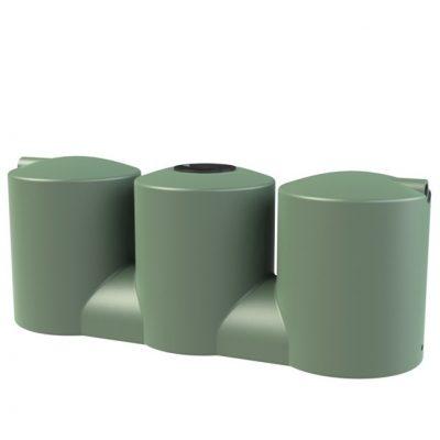 Melro 2007 Litre slimline squat poly water tank