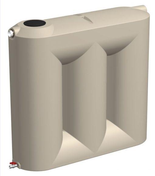 Tankmasta 3000 Litre slimline poly water tank