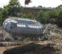 Kingston Water Tanks Tankmasta 5000L Bagel Underground Tank Standard Assembly