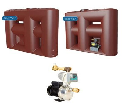 Kingston Water Tanks Package - Melro 3060L Slimline with Zenox ZHR-800