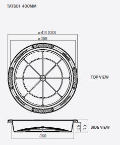 Kingston Water Tanks 400mm RH Filter Basket Specs