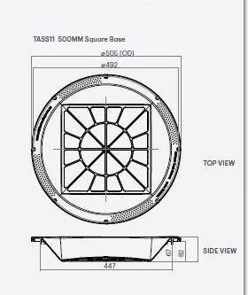 Kingston Water Tanks 500mm Water Tank Strainer Basket