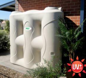 Polymaster 2000 Litre slimline poly water tank