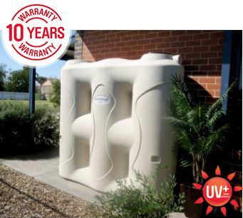Polymaster 3000 Litre slimline poly water tank