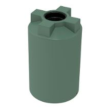 Choice Plastics 200 Litre round poly water tank