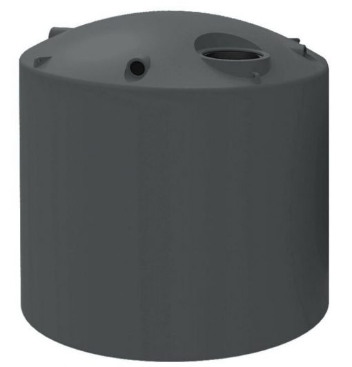 Kingston Water Tanks Polychoice 13500 Litre round poly water tank